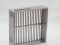 Grid sieve, aluminium frame