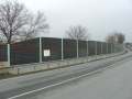 Sound protection walls - Brno